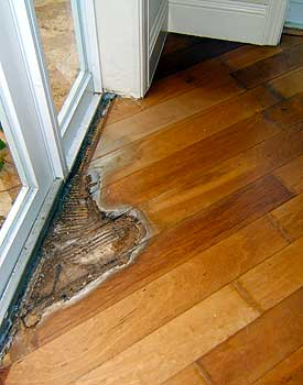 Wood floor repair custom furniture costa rica - Refinishing damaged wood exterior doors ...